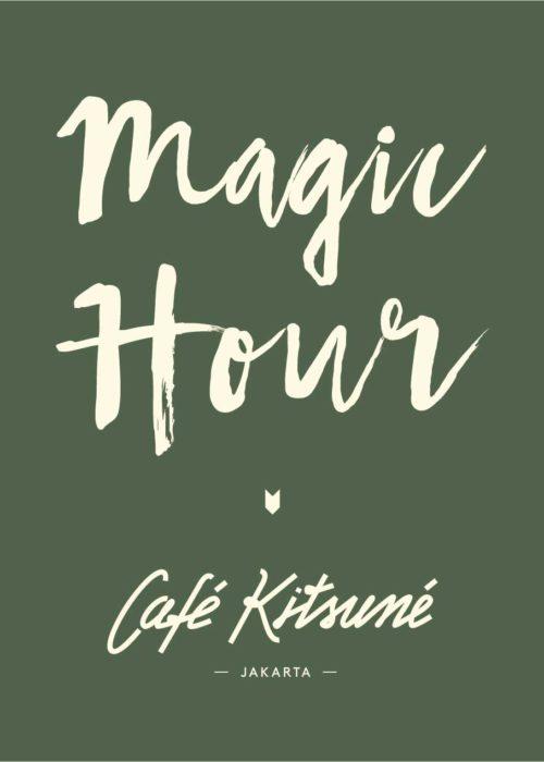 Café Kitsuné Magic Hour