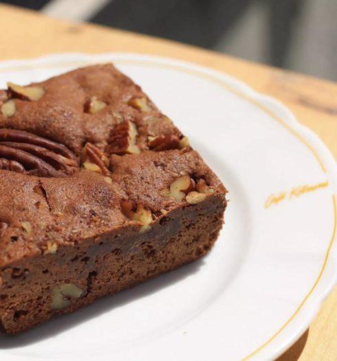 Café Kitsuné Brownie