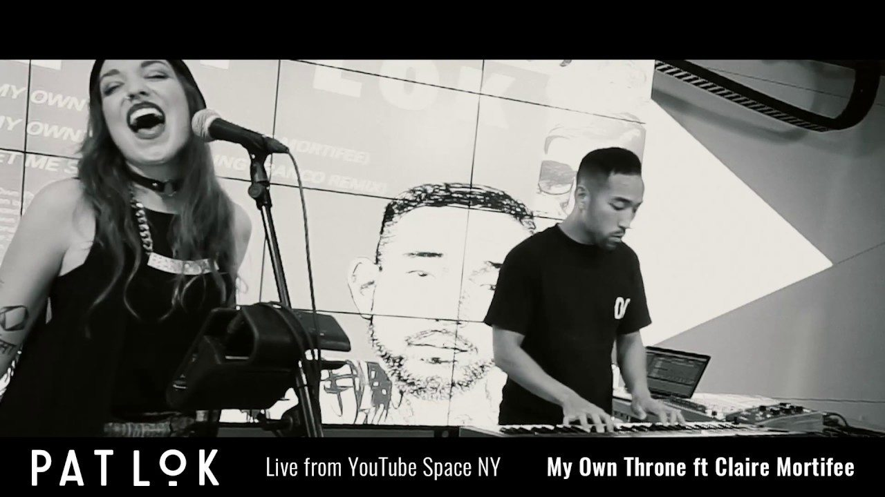 Pat Lok - My Own Throne (feat. Clear Mortifee)   Live @ YouTube Space NY