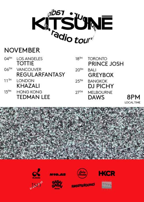 Kitsuné Radio Tour